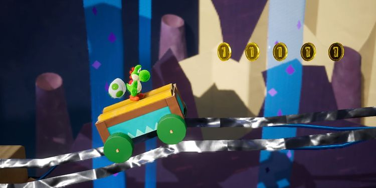 Picture shown with the second question in Yoshi's Crafted World Trivia Quiz