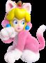 Artwork of Cat Peach from Super Mario 3D World.
