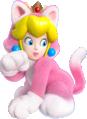 Cat Princess Peach Artwork - Super Mario 3D World.png