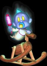 Artwork of Chauncey in Luigi's Mansion