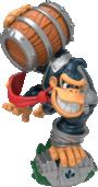 Dark Turbo Charge Donkey Kong figurine