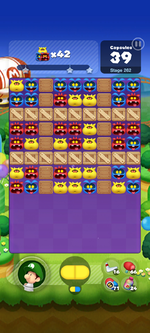 Stage 262 from Dr. Mario World