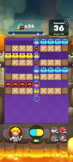 Stage 436 from Dr. Mario World