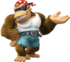 Funky Kong Artwork - Donkey Kong Country Tropical Freeze.png