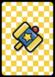 A KO Hammer Card in Paper Mario: Color Splash.