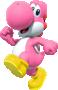 Pink Yoshi from Mario Kart Tour