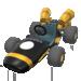 Black B Dasher from Mario Kart Tour
