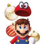 The icon for Nintendo Season's Greetings Cards from Nintendo Kids Club