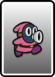 A Pink Snifit card from Paper Mario: Color Splash
