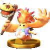 Riki trophy from Super Smash Bros. for Wii U
