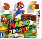 The North American cover for Super Mario 3D Land