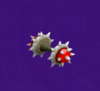 The Spiny Tires from Mario Party 5s Super Duel Mode.