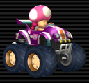 Toadette in the Tiny Titan