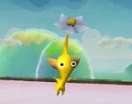 A Yellow Pikmin in Super Smash Bros. Brawl