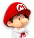 Icon of Dr. Baby Mario from Dr. Mario World