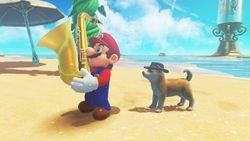 Find Band Members in the Seaside Kingdom! in Super Mario Odyssey