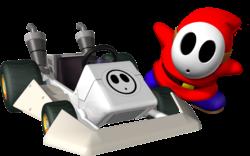 Shy Guy in Mario Kart DS