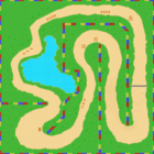 MKSC SNES Donut Plains 2 Map.png