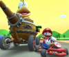 The Roy Cup Challenge from the New Year's Tour of Mario Kart Tour