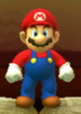 Mario as viewed in the Character Museum from Mario Party: Star Rush
