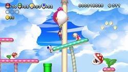 NSMBU Mario and Luigi with Magenta Yoshis.jpg