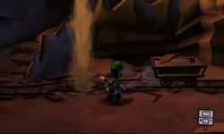 The Quarry segment from Luigi's Mansion: Dark Moon.