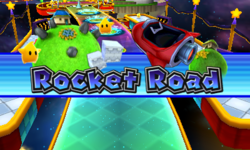 Intro for Rocket Road from Mario Party: Island Tour.