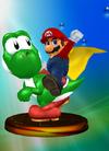 Mario (specifically Cape Mario) & Yoshi