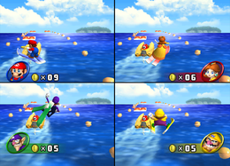 Water Ski Spree from Mario Party 8