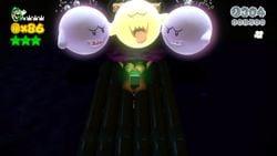 Deep-Black Jungle Drift from Super Mario 3D World.