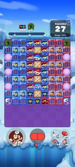 Stage 1001 from Dr. Mario World