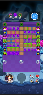 Stage 13B from Dr. Mario World