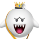 Sprite of Dr. King Boo from Dr. Mario World