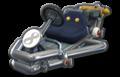 Thumbnail of Metal Mario's Pipe Frame (with 8 icon), in Mario Kart 8.