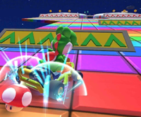 The icon of the Ice Mario Cup challenge from the 2021 Paris Tour in Mario Kart Tour.