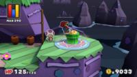 The Cork in Vortex Island from Paper Mario: Color Splash