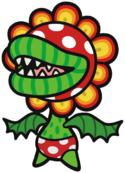 Petea Piranha in Paper Mario: Color Splash.