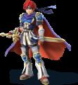 Roy's artwork in Super Smash Bros. for Nintendo 3DS / Wii U