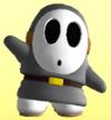 Gray Shy Guy from Mario Super Sluggers