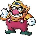 Artwork of Wario for Super Mario Land 2: 6 Golden Coins