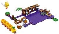 "LEGO Super Mario ""Wiggler's Poison Swamp"" set"