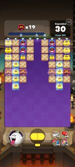 Stage 890 from Dr. Mario World