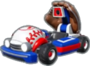 Mario's Fastball icon in Mario Kart Live: Home Circuit