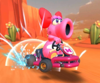 The icon of the Metal Mario Cup challenge from the 2021 Los Angeles Tour in Mario Kart Tour.