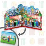 Mario & Luigi Photo Opportunity from Super Nintendo World