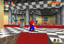 Mario in Mushroom Castle