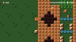 The Super Mario Maker 2 NintendoUS level Tree Fortress.