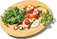 Piranha Plant Caprese from Super Nintendo World
