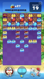 Stage 92 from Dr. Mario World