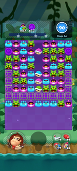 Stage 9A from Dr. Mario World